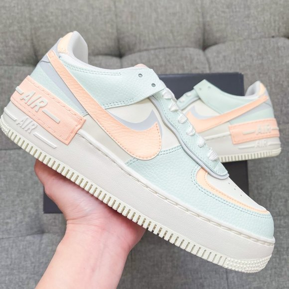 ???? Nike Air Force 1 shadow pastel cotton candy